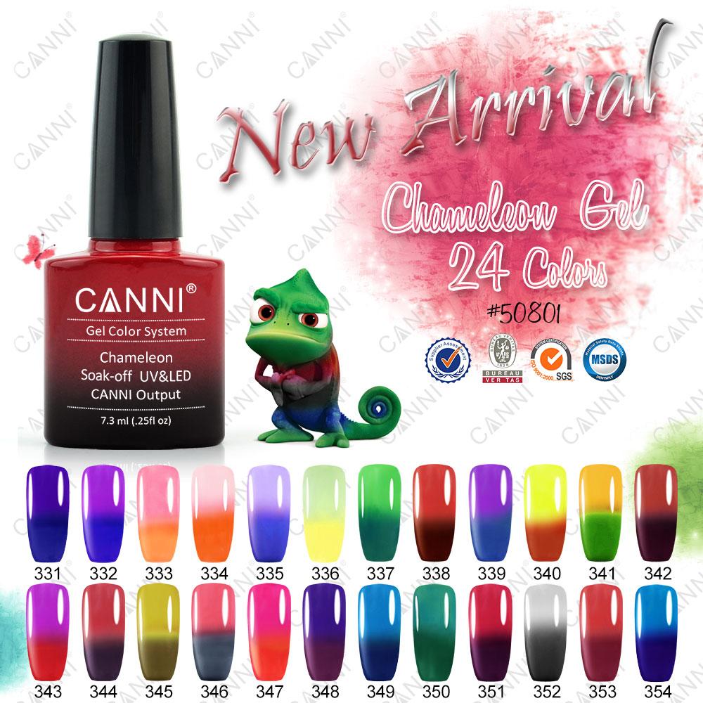 50801j 2016 Longlasting Shining Canni Professional Mood Change Nail ...