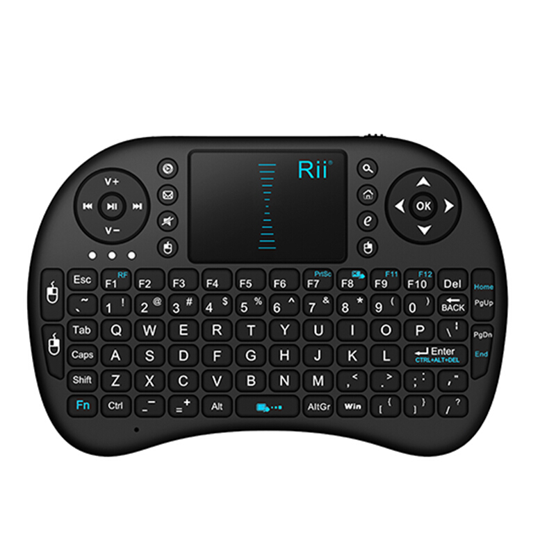 Multifunction 2.4G BacklitAir Mouse Mini Wireless Keyboard Remote control 3-Gyro 3-Gsensor i8 keyboard