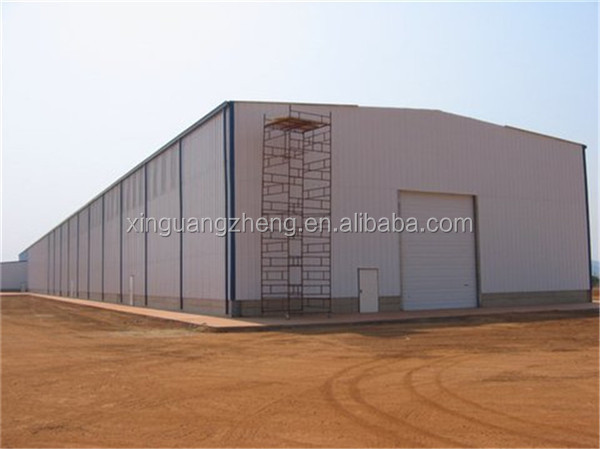 Ethiopia cheap steel structure prefabricated warehouse