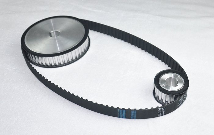 HTD type rubber timing belt