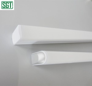 PC body PMMA cover light fitting T5 T8 high lumen led batten light tube