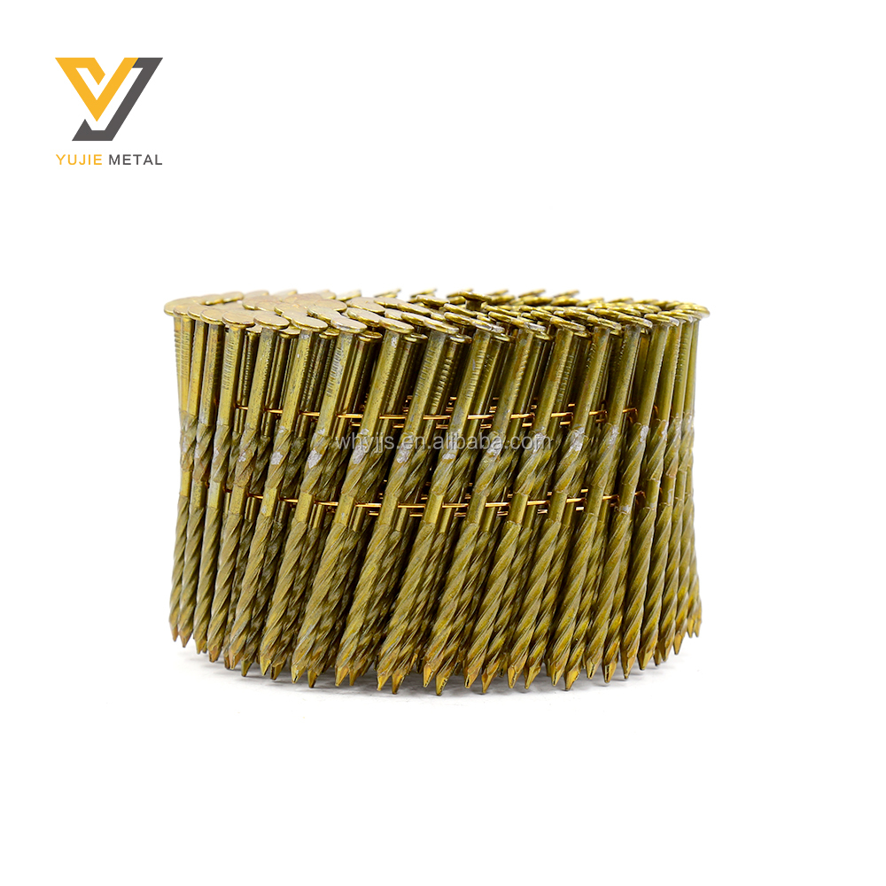 2 Inch Framing 2.5x57mm Screw Shank Pallet Coil Nail