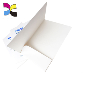 Custom new logo printing A4 paper file one pocket folder with thickness