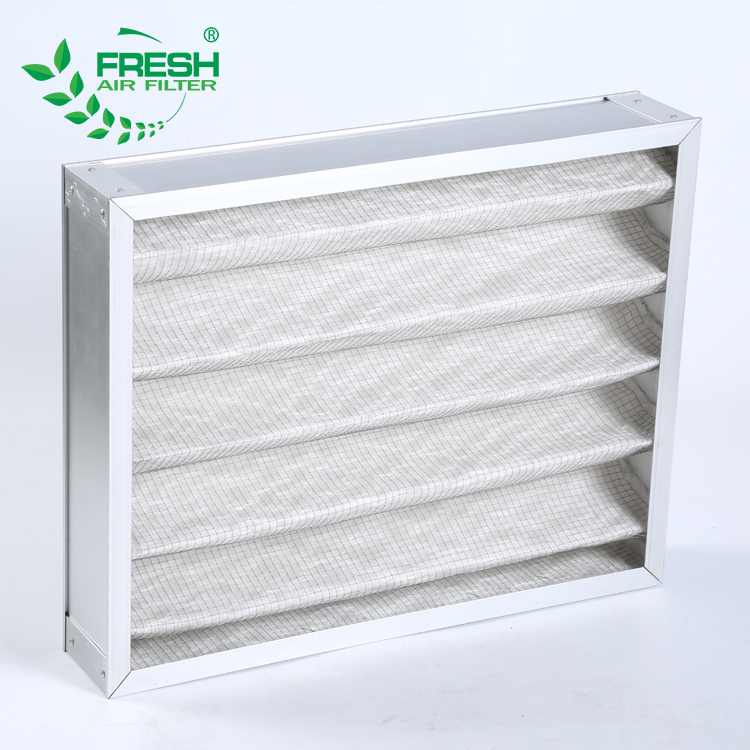 G3 G4 High temperature retardant filltrator system honeycomb carbon filter laminar flow air filter air