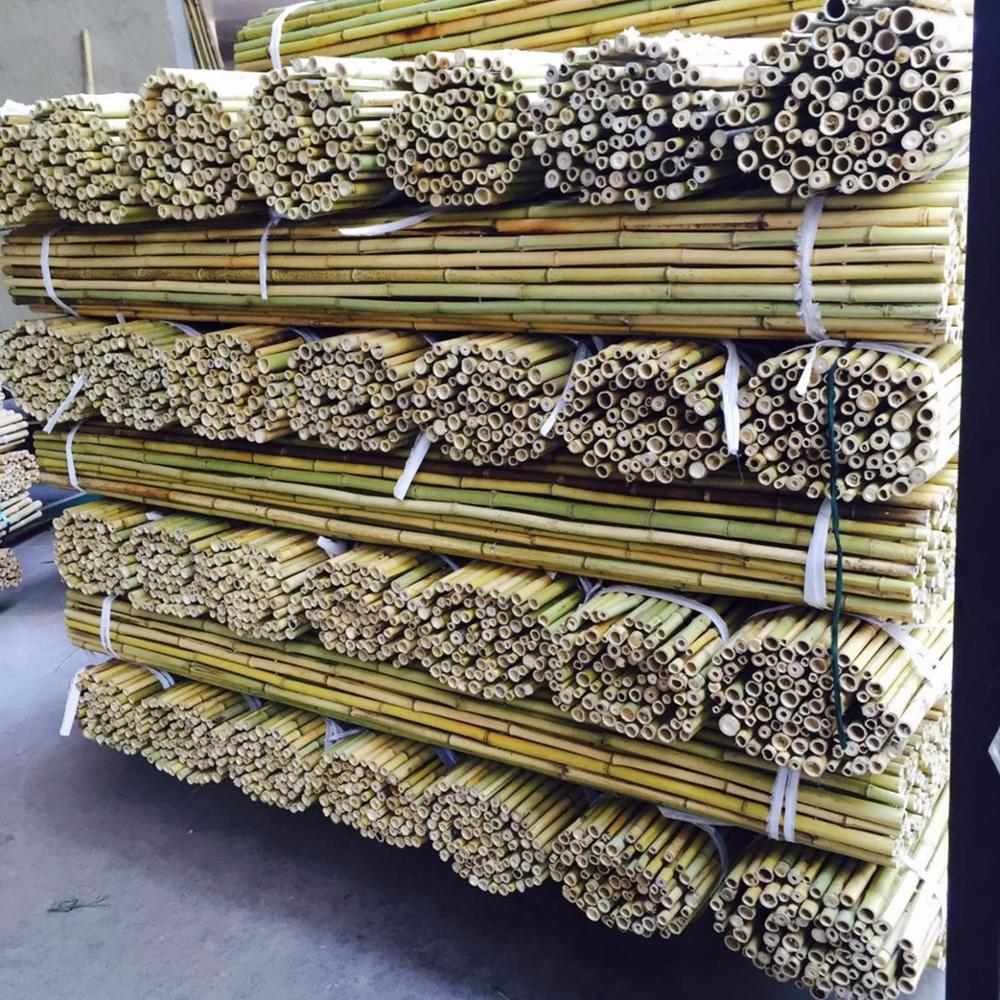 factory prices strong bamboo pole for garden use