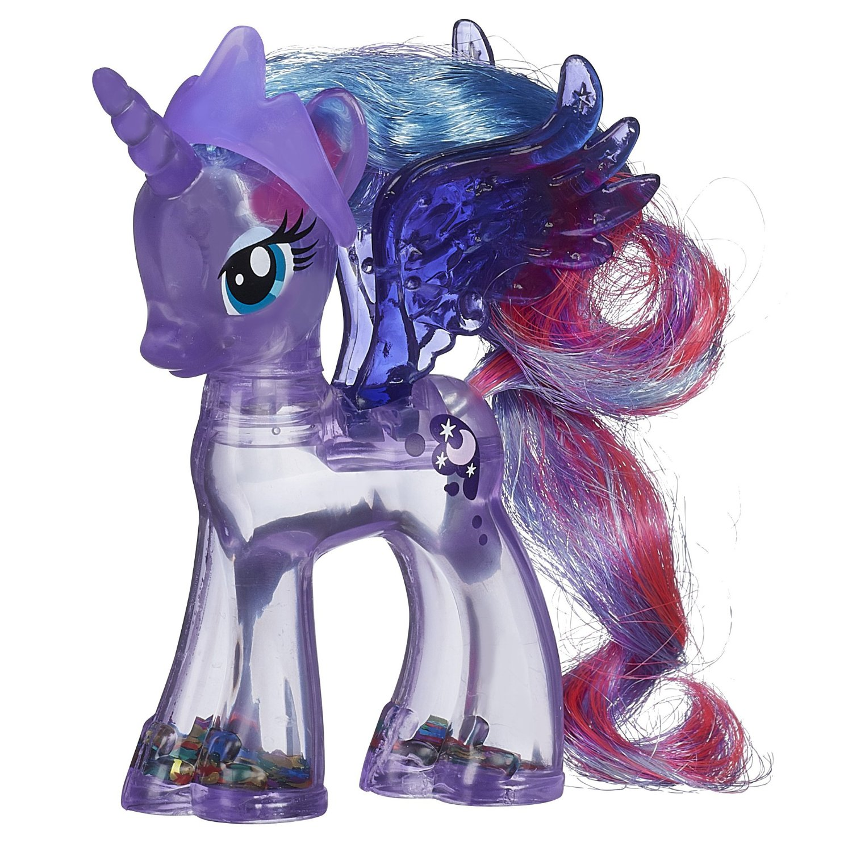 Buy My Little Pony Rainbow Shimmer Princess Luna Pony Figure In