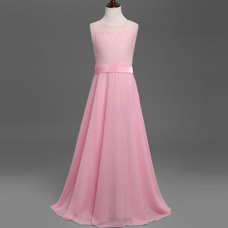 7377010ff93e Zh0837a Latest Fancy Girls Princess Dress Children Wedding Maxi ...