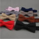 BT-W New design woolen bowties/high quality wool bow tie