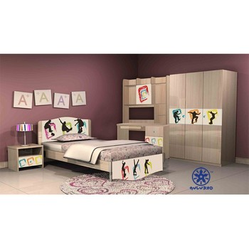 hello pink melamine modern bedroom sets 1303b buy