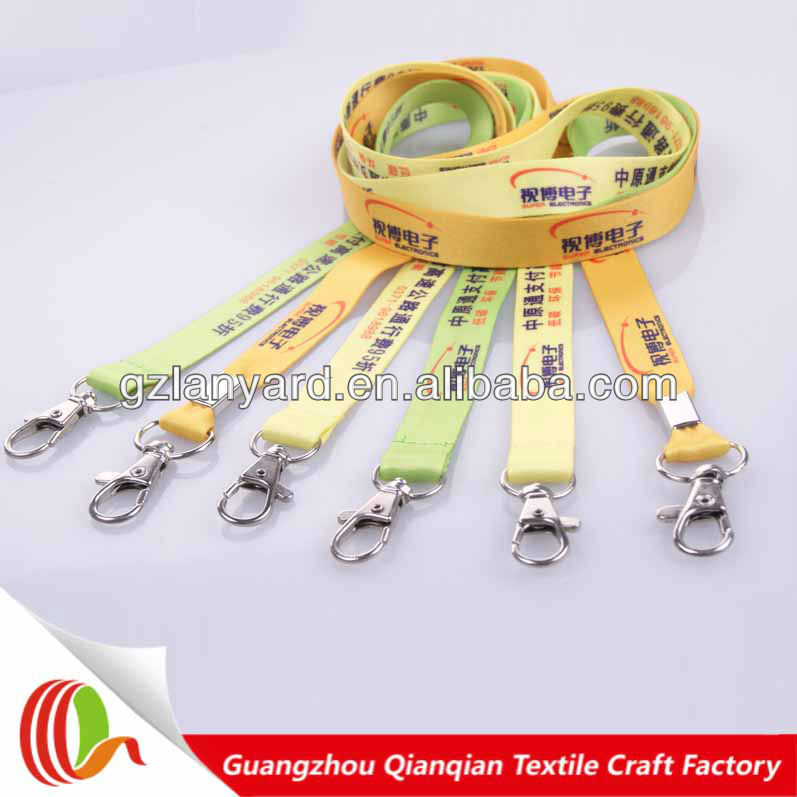 Fashionable Promotion Polyester Custom Print Nfl Lanyard Wholesale