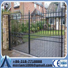 China factory used ornamental wrought iron gates for sale
