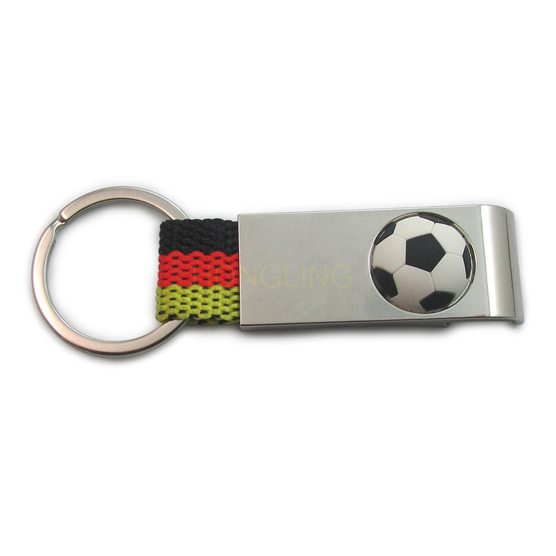 football keychain metal bottle opener trolly coin holder keychain opener