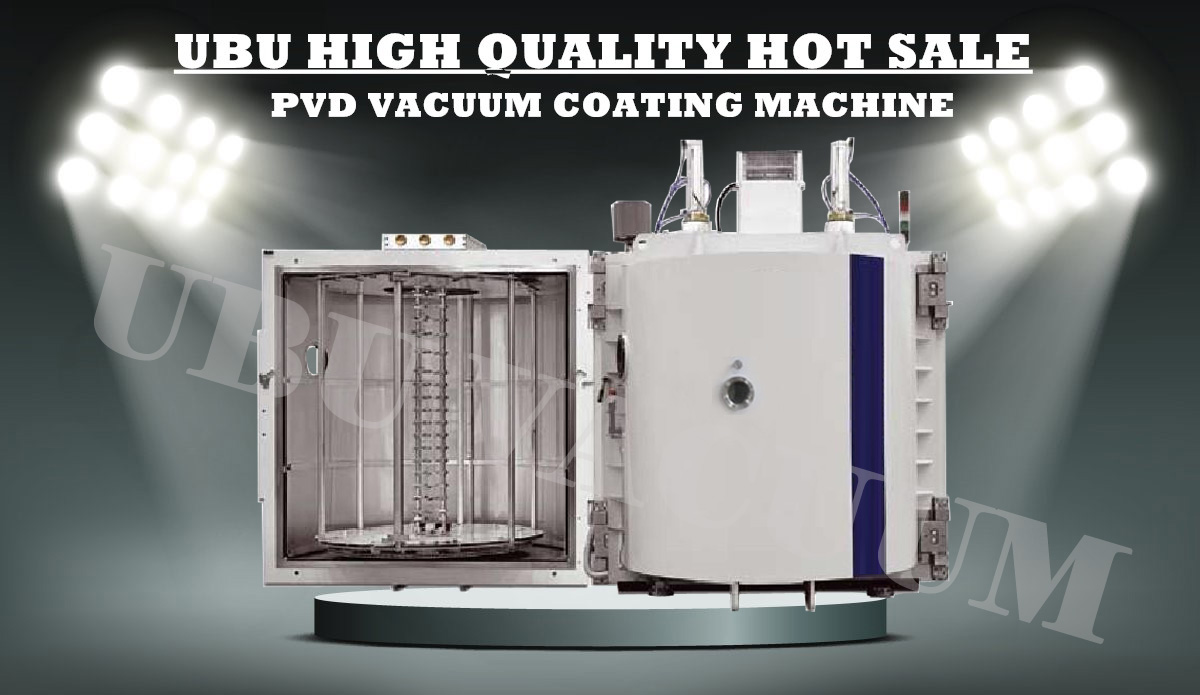 pvd vacuum coating machine for plastic parts
