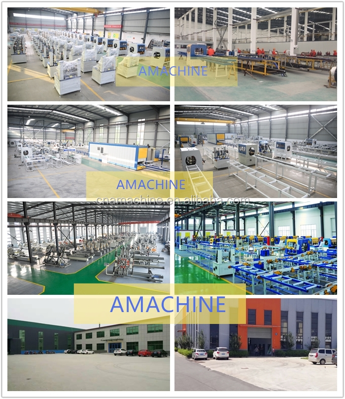 Thermal break assembly machine for aluminium profiles_strip insertion_rolling machine_knurling