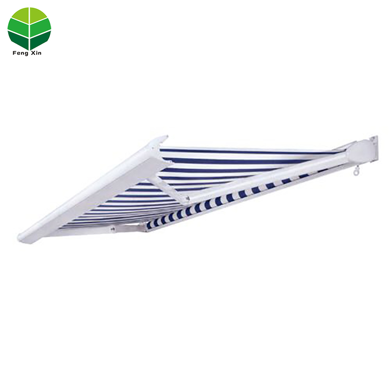 Fengxin Motorized Outdoor roof sunshade with Semi-cassette awning
