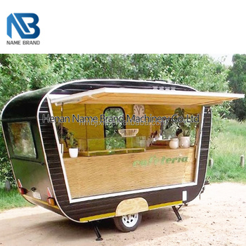 Factory Price Mobile Churros Food Restaurant Ice Cream Vendings Trailer Truck For Sale In