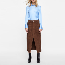 ca9df0f6e Promoción Faldas De Pana De Largo, Compras online de Faldas De Pana ...