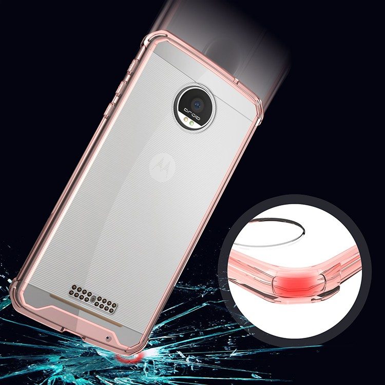 mobile accessories alibaba express bulk buy from china with transparent , crystal clear mobile phone case for Moto Z Force