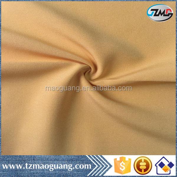 190gsm desain tekstil terbaru kain stretch bengaline 4 cara peregangan 90 polyester 5 elastane