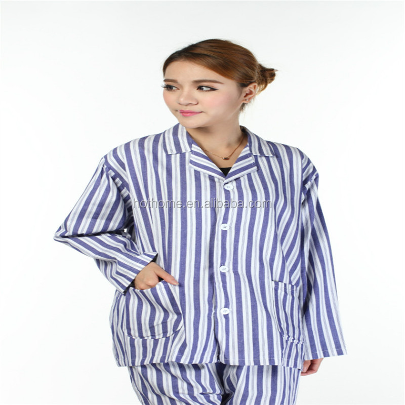 one piece long robe patient wear/hospital gown