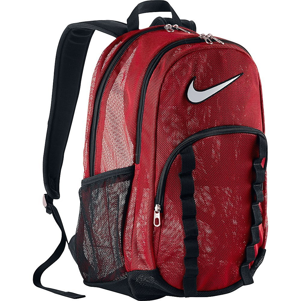 90c9497bdd Buy Nike Brasilia 7 XL Mesh Backpack Red Black BA5078-601 (XL) in ...
