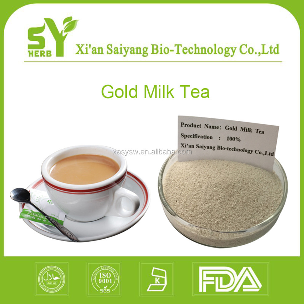 Best pure taste instant taiwan gold milk tea powder