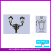 Alibaba express Tapered Cast Iron Street Lamp Post, Outdoor Lighting Pole