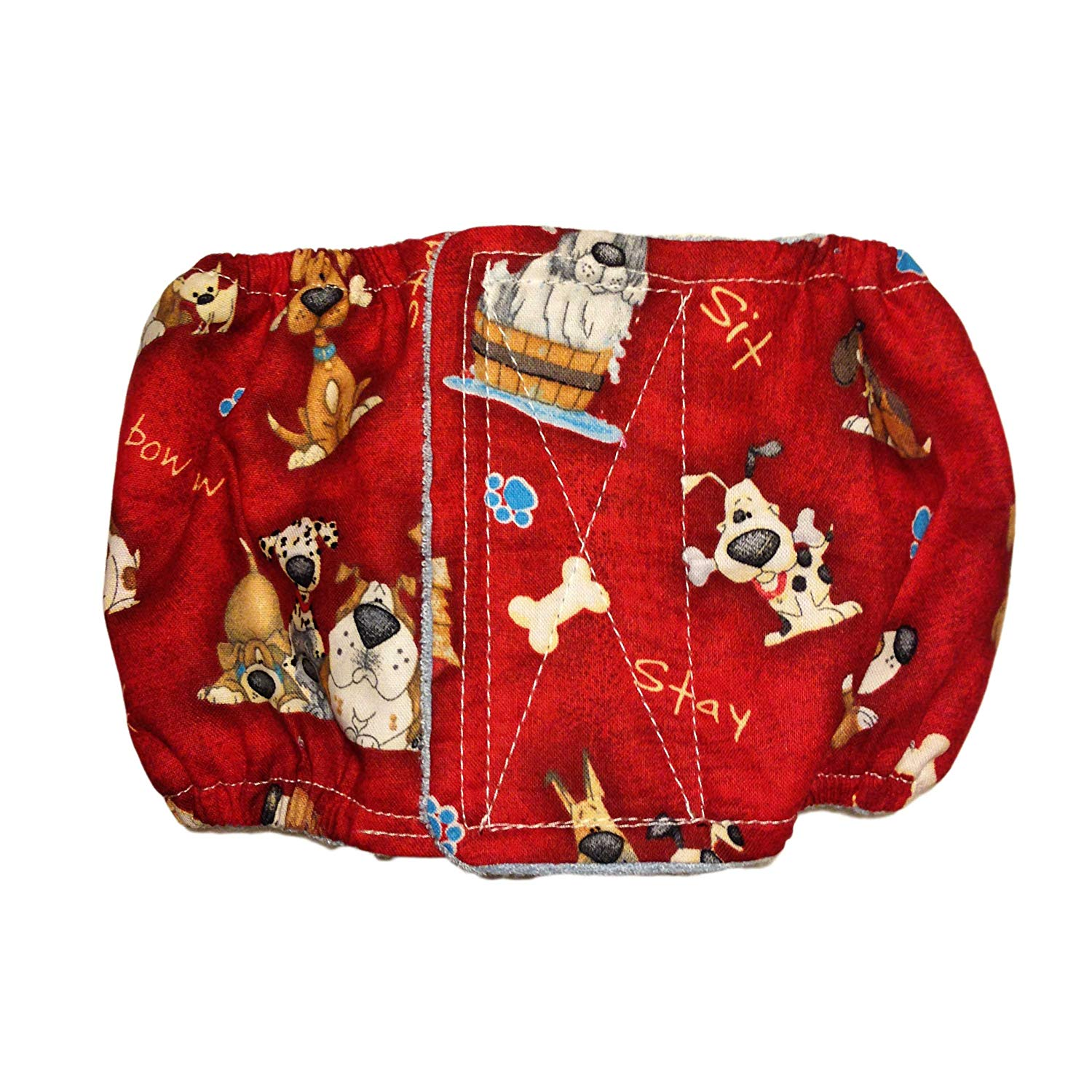 Male Dog Diaper - Made in USA - Good Doggie Washable Dog Belly Band Male Wrap for Territorial Marking, Excitable Peeing and Urinary Incontinence