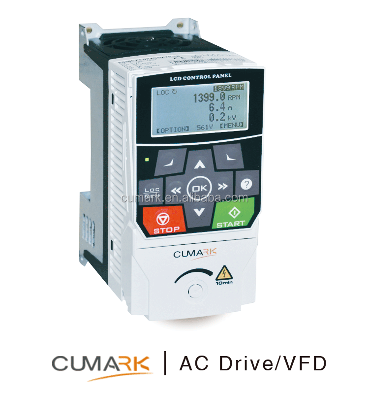 Cumark ES580 High precision speed control AC Drive 440V 3 phases High Protection High energy saving with optional PG card