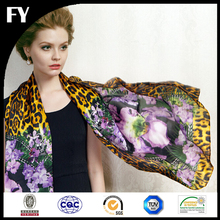 digital printing custom scarf no minimum with your own design