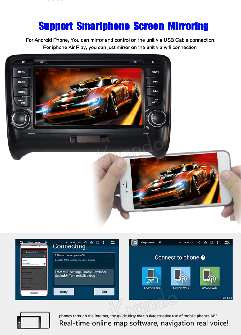 for audi tt android 8.0