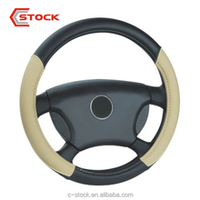 C-Stock Universal PU Leather Comfy Fit For Summer Promotion Car Steering Wheel Cover