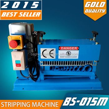 Scrap Wire Stripping Machine / Copper Wire Recycling / Automatic ...