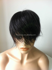 Wholesale Price High Quality Hot Sale Human Hair Full Swiss Lace with PU around toupee for men