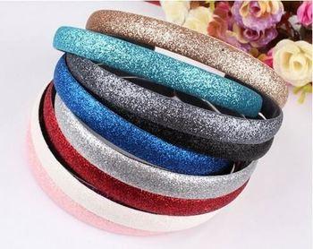 Godbead Scrub Glitter Candy Color Plastic Headband With Grip Teeth Festive  Dance Cheer Holiday eba75da472c