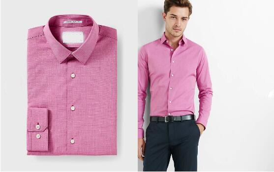German Shirt Brands Cotton Business Slim Fit Non Iron Pink Color ...