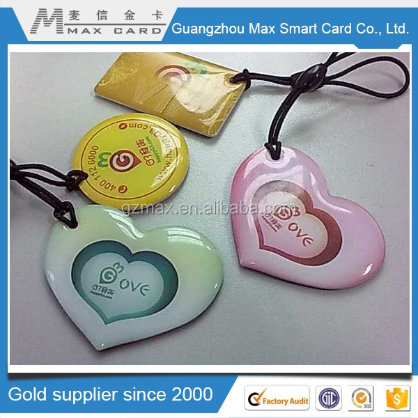 Epoxy Mini rfid glue card tag buy direct from china manufacturer