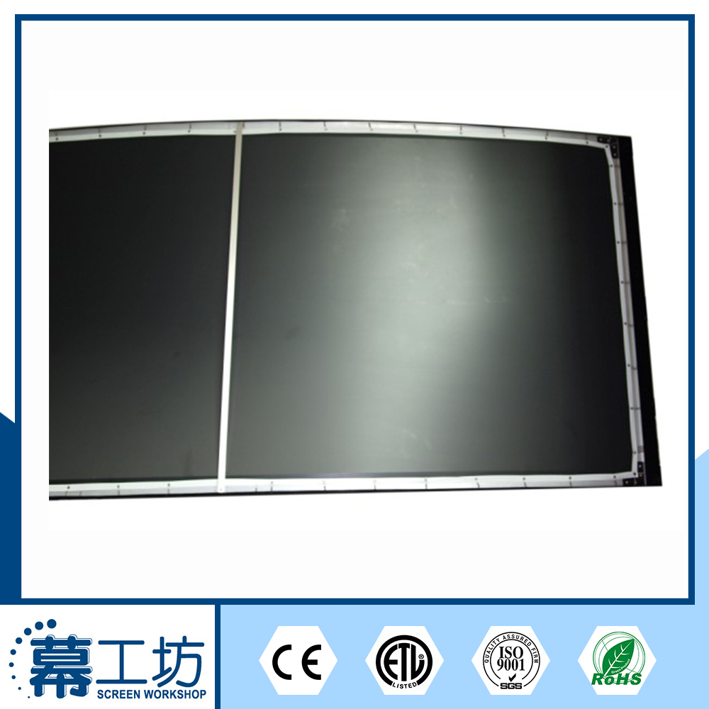 white Projection curved frame tempered glass screen guard