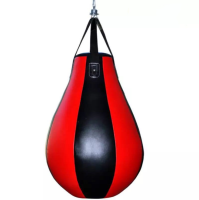 wholesale pear punch bag PU leather punching bag