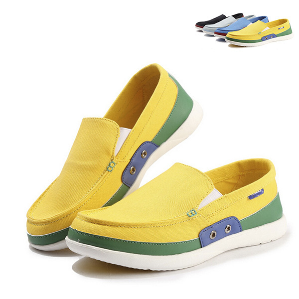 fashion summer 2015 shoes men sneakers casual canvas shoes yellow 4 color low top espadrilles sports World Cup mens shoes SM490
