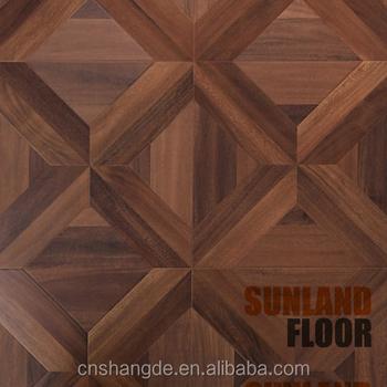 Best Design Oak Teak Wood Unfinished Parquet Flooring Tiles