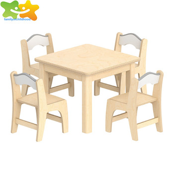 High Quality Multi-function wood school kids table chairs children furniture set for sale