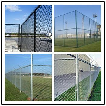 Playground Galvanized Welded Wire Mesh Fence Panels In 12 Gauge ...