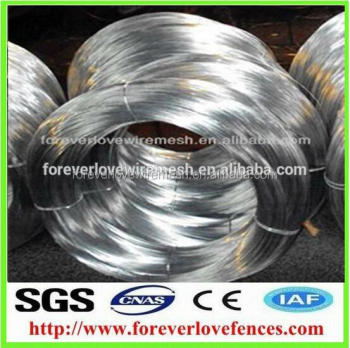 Anping factory wholesale hot dipped galvanized wire