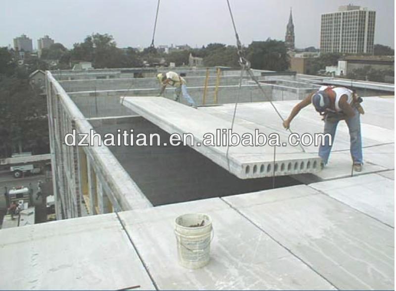 Charming Precast Concrete House Extrusion Machine For Hollow Core Slab