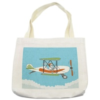 Polyester Cotton and Handled Style Eco-Friendly Tote Shopping Promotional Imprint Bags