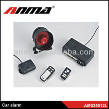 Good quality 2013 new two way car manual universal voice car alarm system