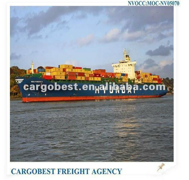 General Logistics products from HAIKOU to POINTE NOIRE