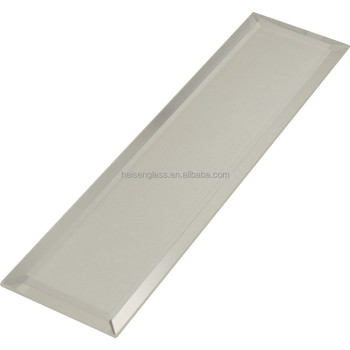 Beveled Edge Mirror Strip Tiles