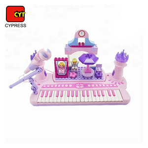 children piano keyboard toy set electronic organ with chair